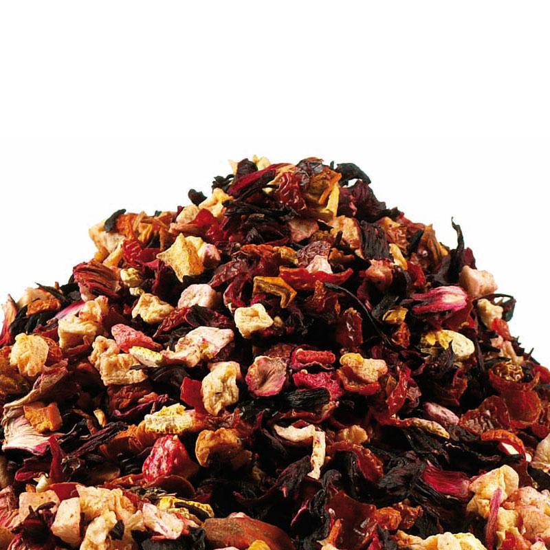 Vaisinė arbata Žemuogė-Avietė