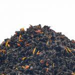 Juodoji arbata žemuogių kremas
